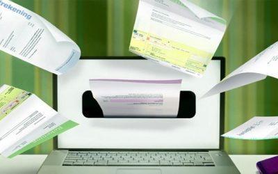 Digitale facturen maken, in een online factuurprogramma?