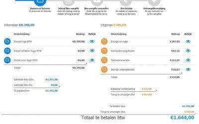 BTW – Aangifte Middels iDEAL met Informer
